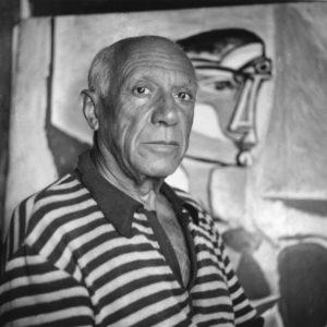 Spanish artist Pablo Picasso (1881 - 1973)